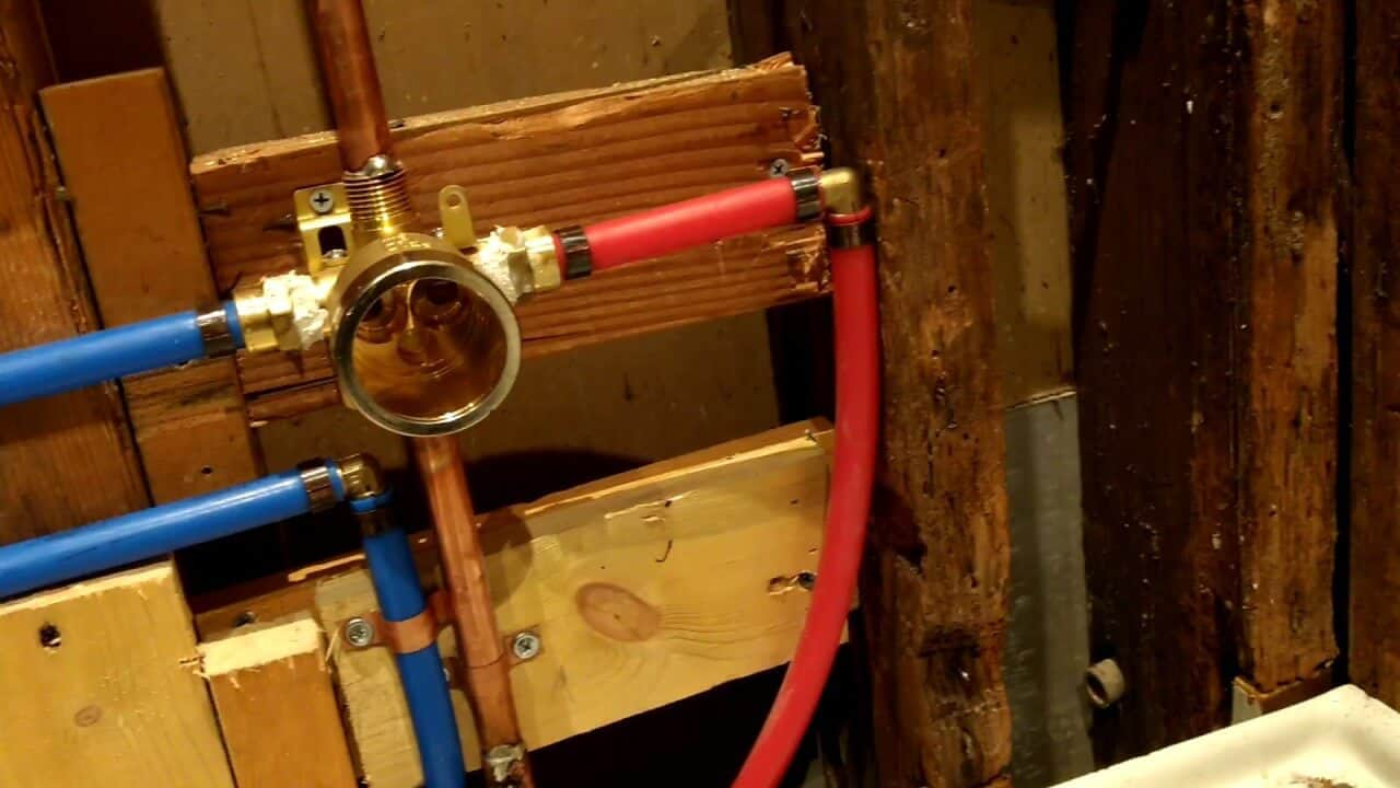 How to Install Delta Shower Valve Rough-in